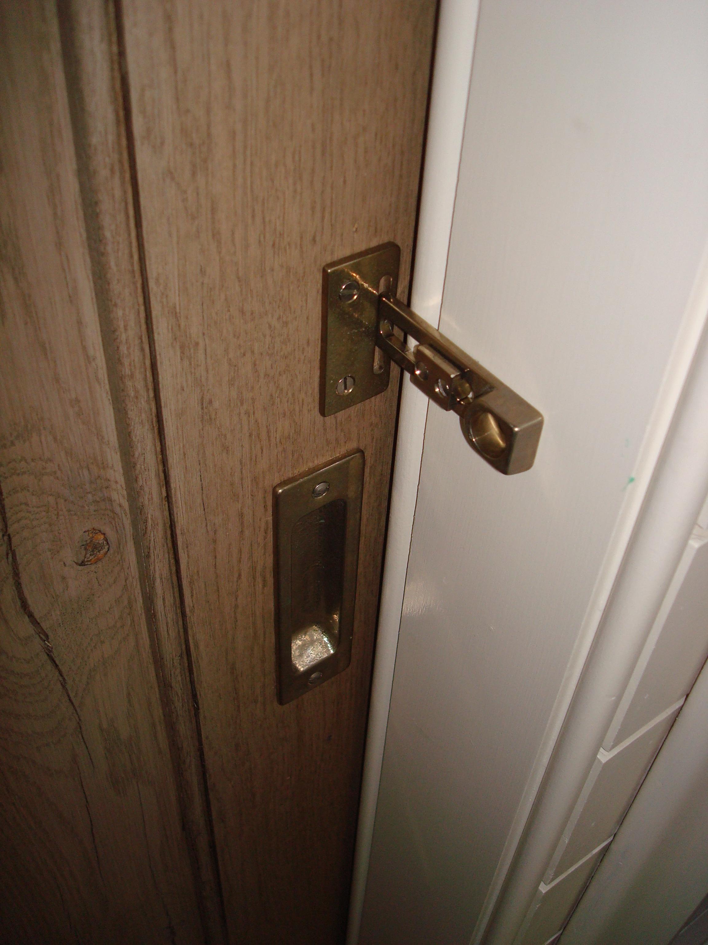 locking interior door knob photo - 19