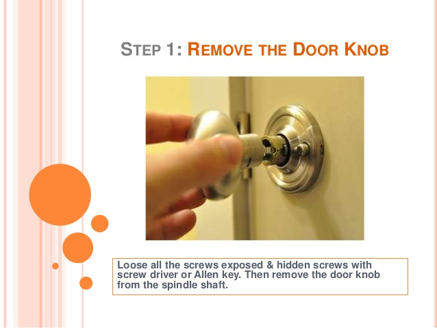 loose door knob photo - 20