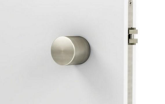 low profile door knob photo - 14