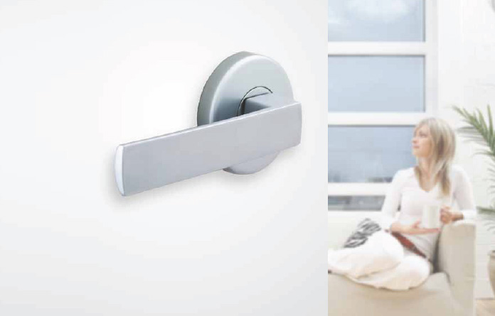 low profile door knob photo - 4
