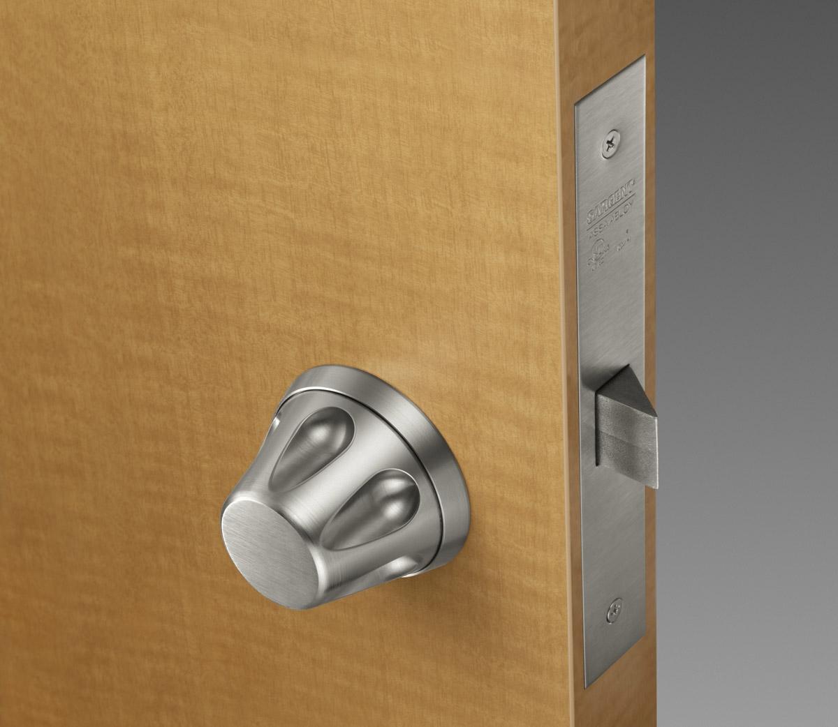 low profile door knobs photo - 14