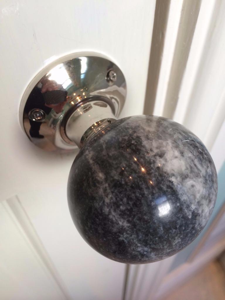 marble door knobs photo - 12
