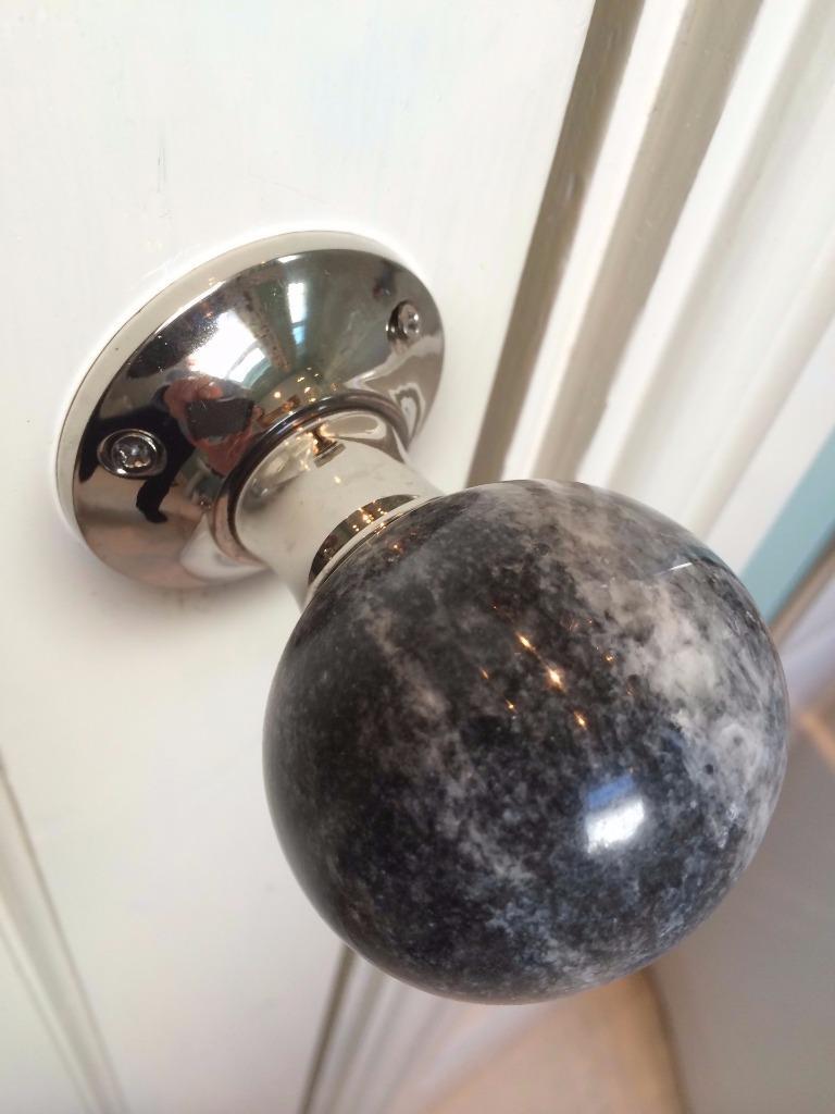 marble door knobs photo - 3