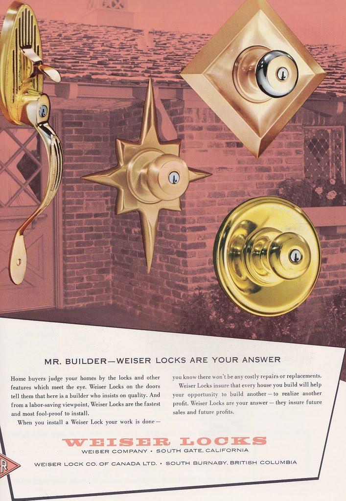 mid century modern door knobs photo - 11