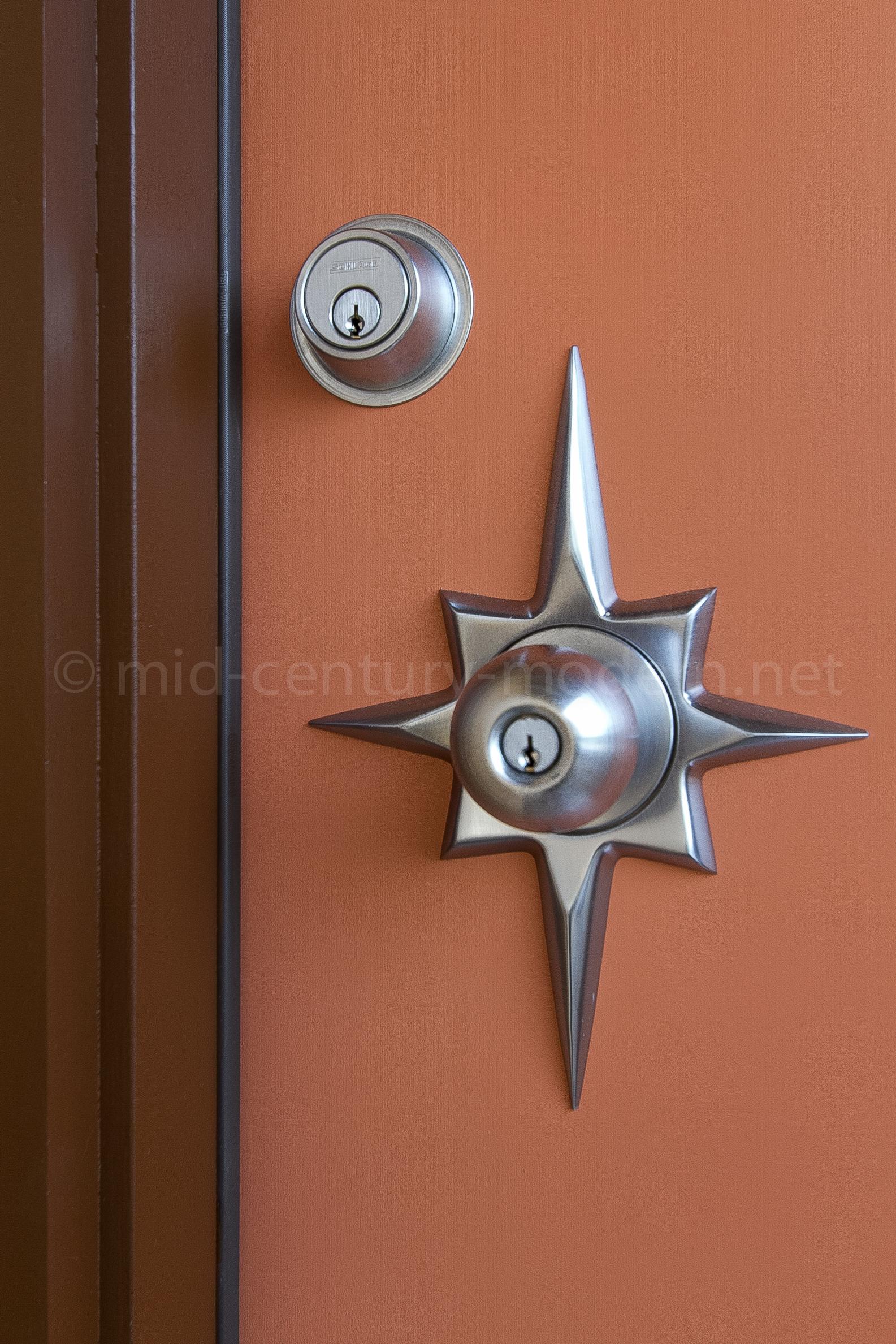 mid century modern door knobs photo - 5