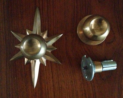 mid century modern door knobs photo - 9