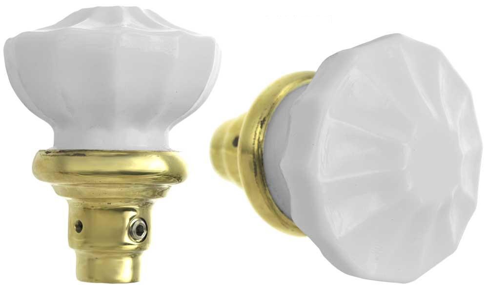 milk glass door knobs photo - 5