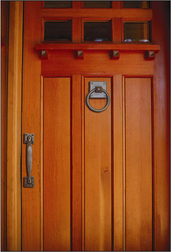 mission style door knobs photo - 6
