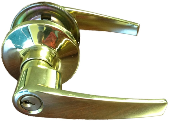mobile home door knob photo - 10