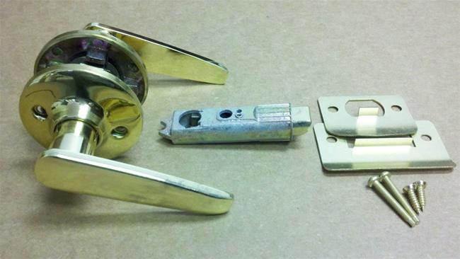 mobile home door knob photo - 6