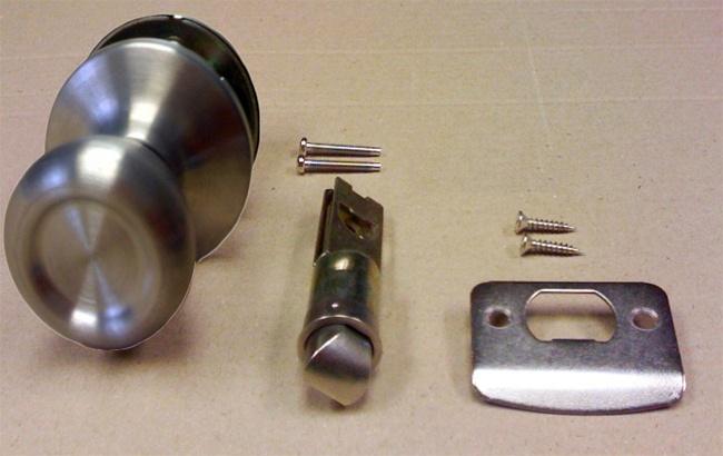 mobile home door knobs photo - 7