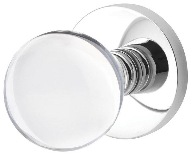 modern glass door knobs photo - 11