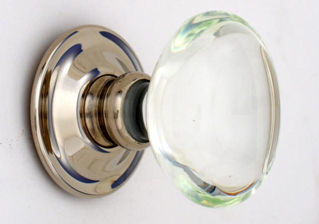 modern glass door knobs photo - 9