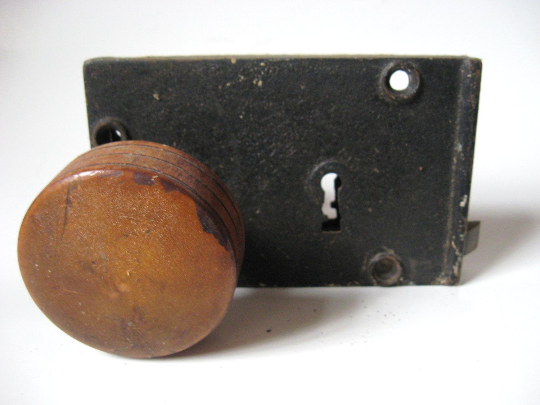 mortise door knob photo - 11