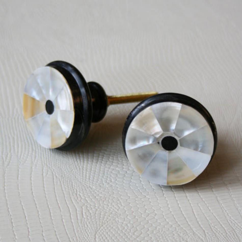 mother of pearl door knobs photo - 1