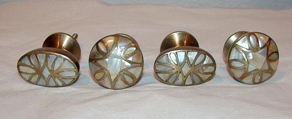 mother of pearl door knobs photo - 10