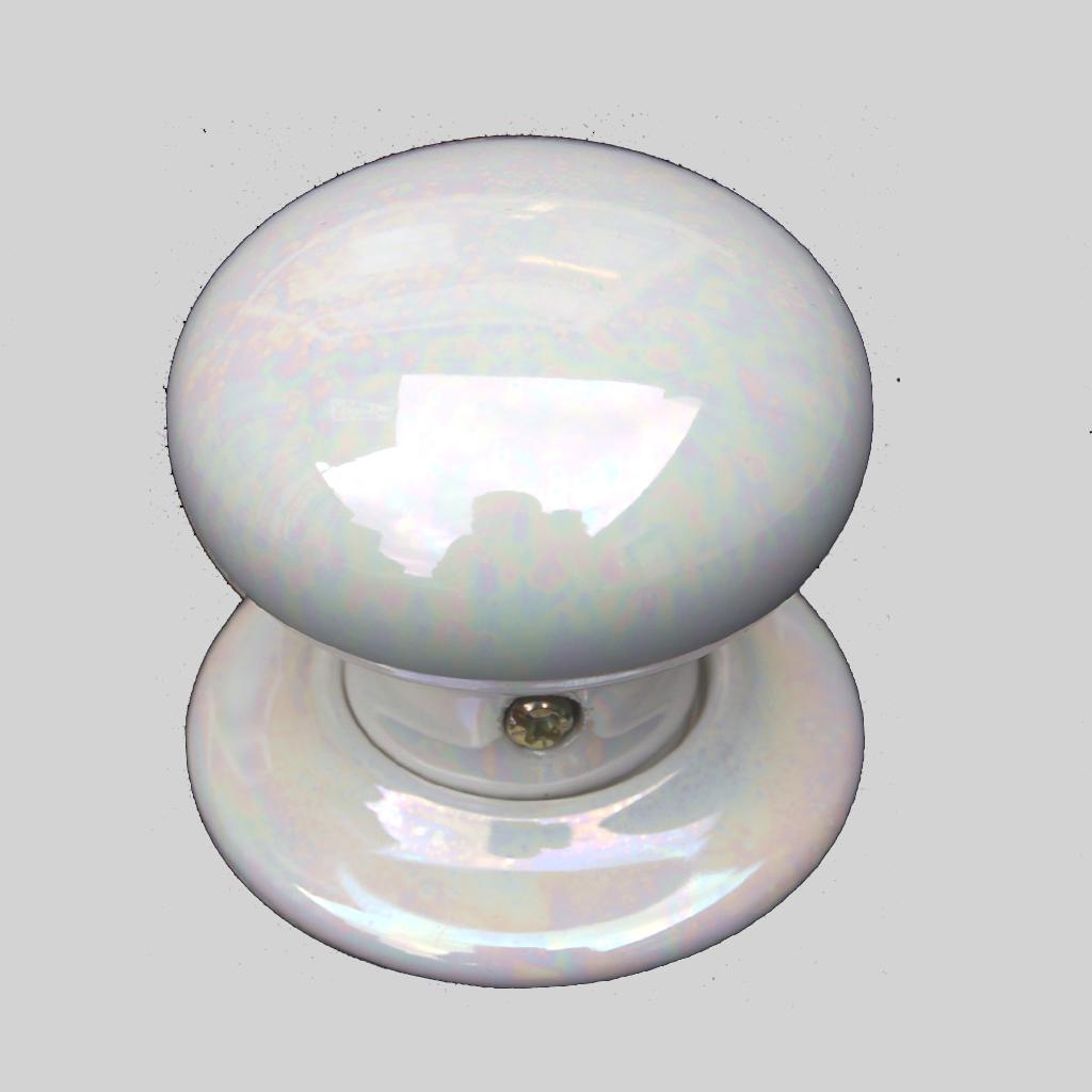 mother of pearl door knobs photo - 12
