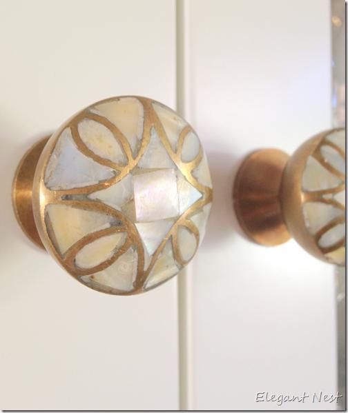 mother of pearl door knobs photo - 13