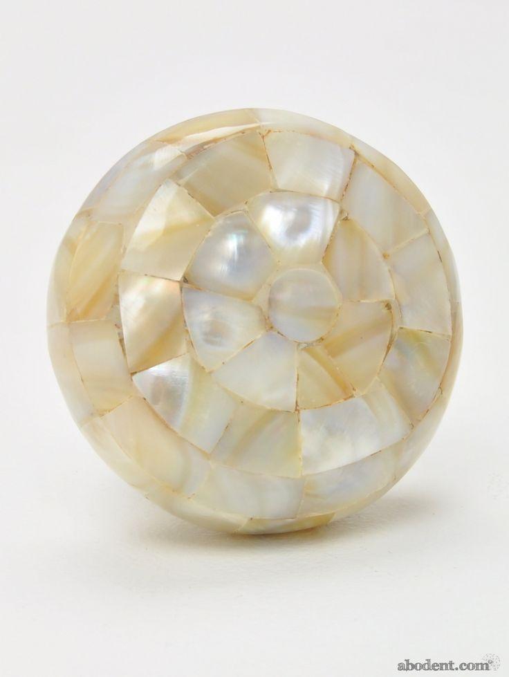mother of pearl door knobs photo - 9