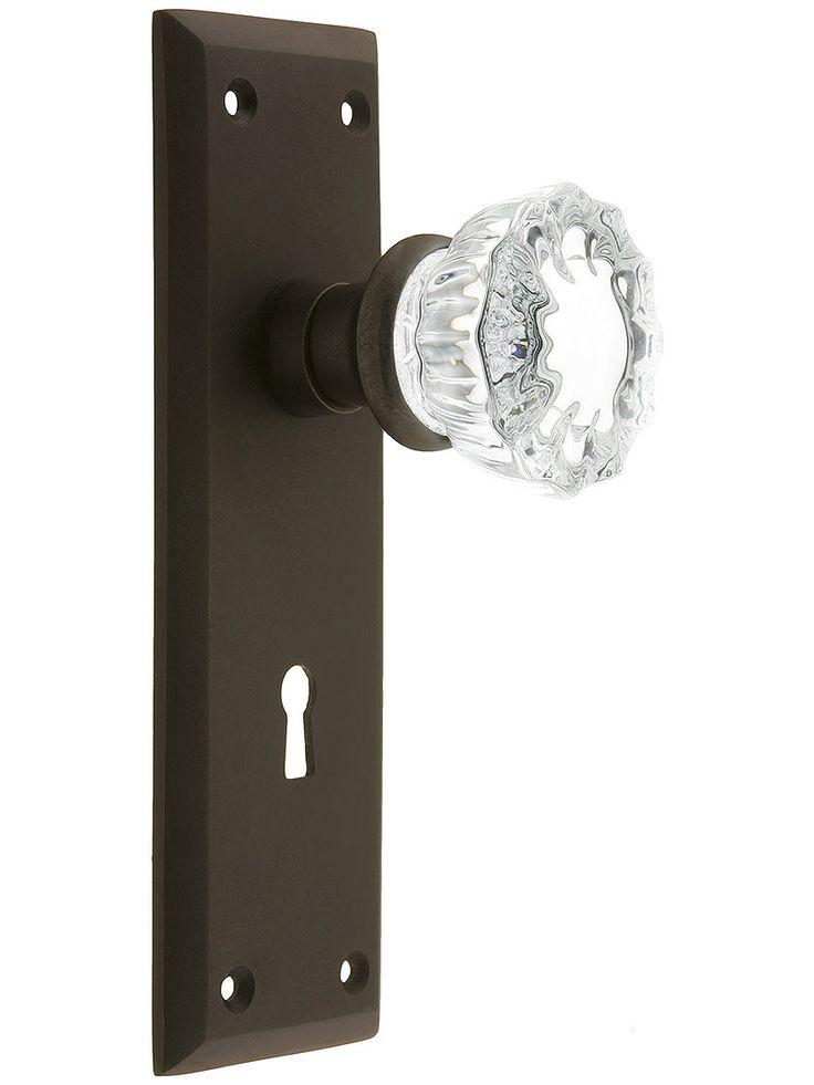 new glass door knobs photo - 3