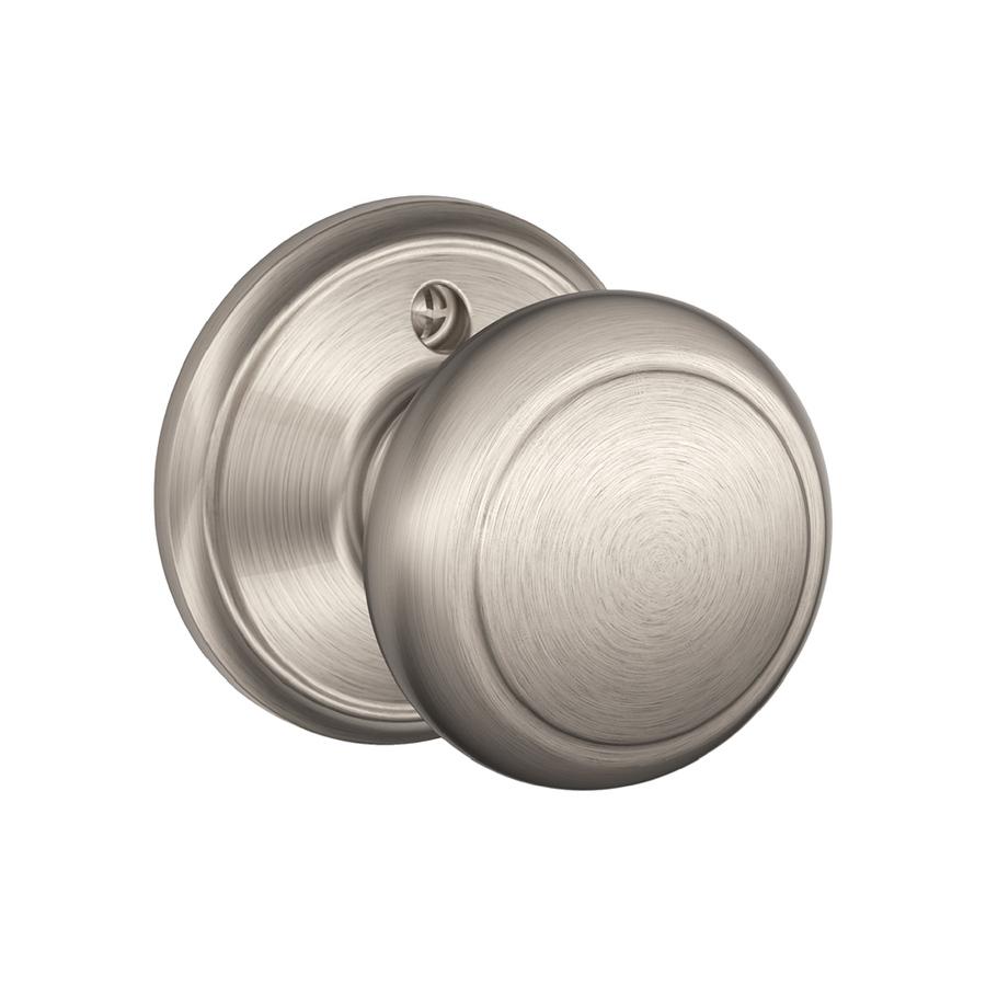 nickel door knob photo - 6