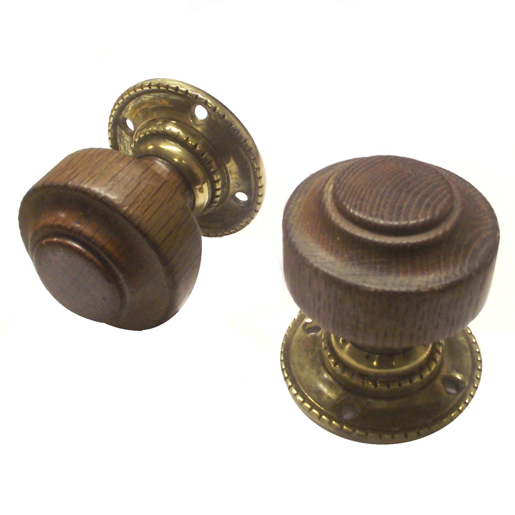oak door knobs photo - 15
