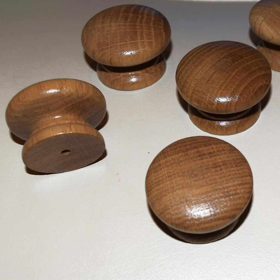 oak kitchen door knobs photo - 10