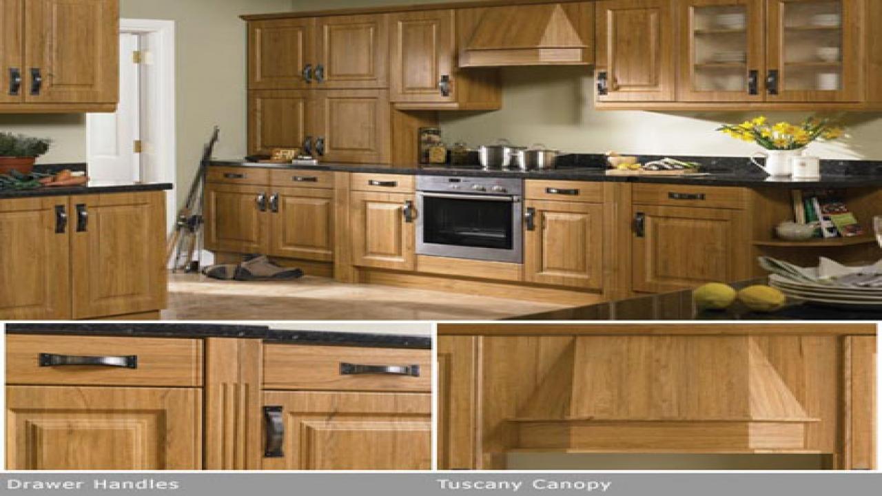 oak kitchen door knobs photo - 15