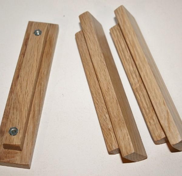 oak kitchen door knobs photo - 16