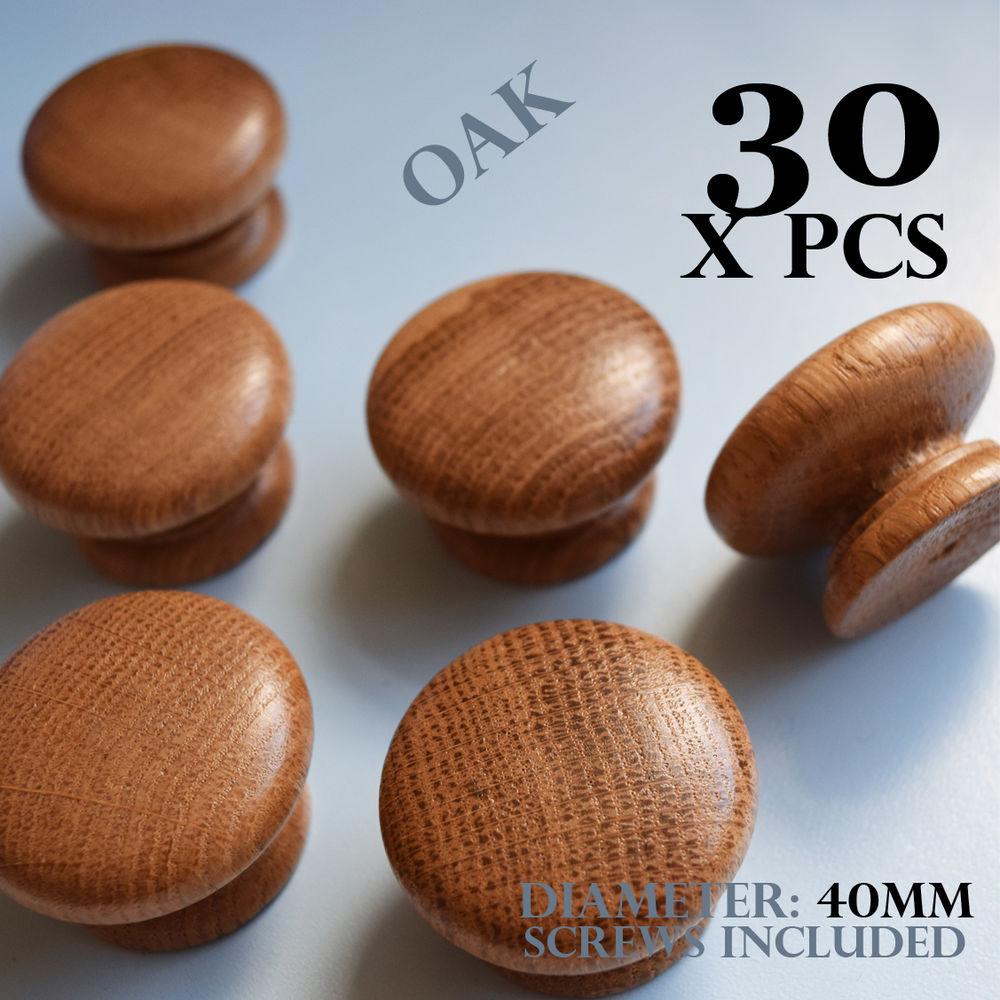 oak kitchen door knobs photo - 2