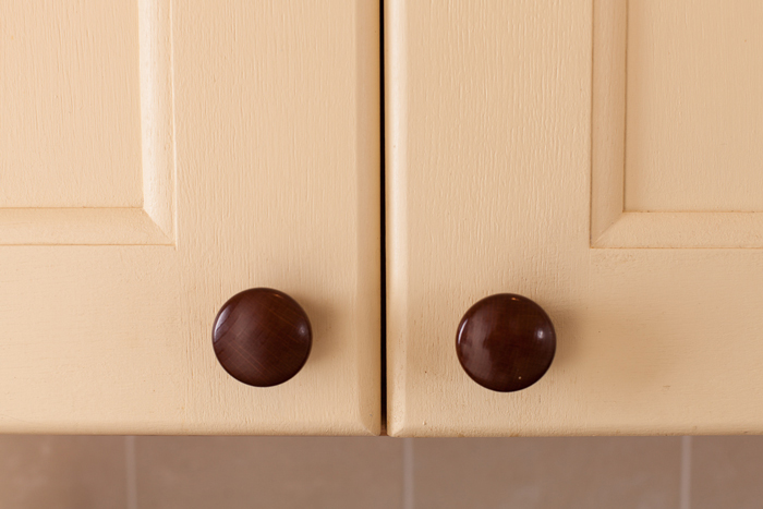 oak kitchen door knobs photo - 4