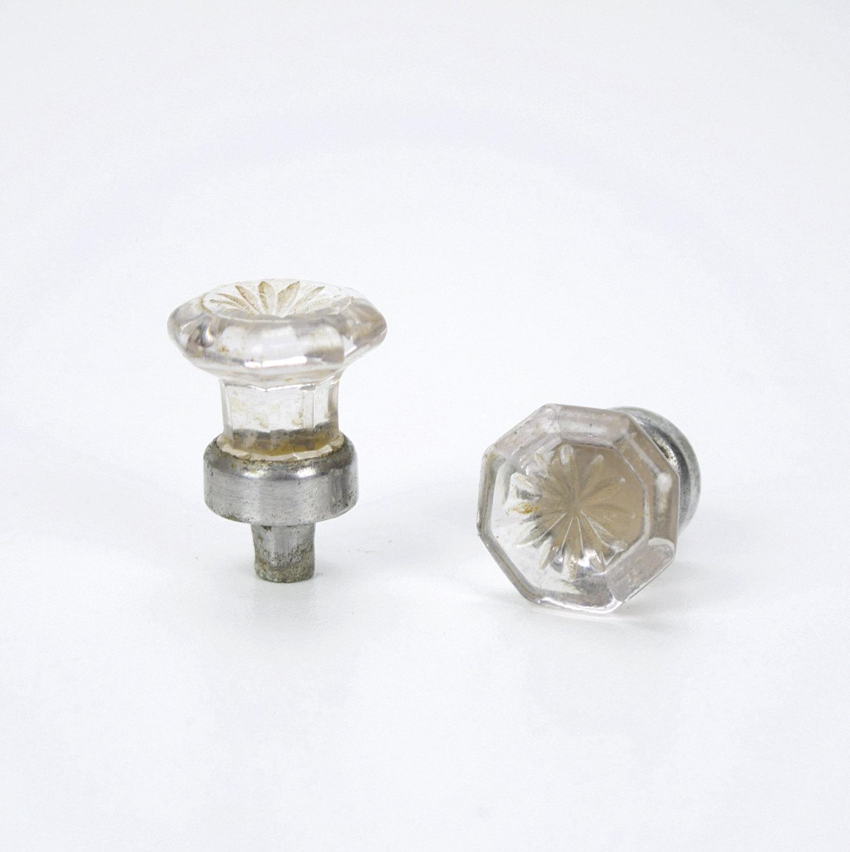 octagonal glass door knobs photo - 10