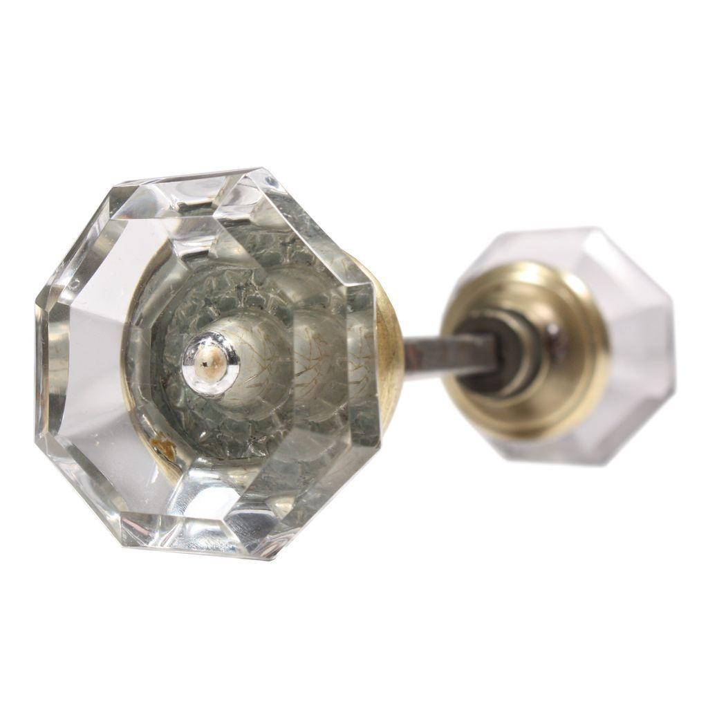 octagonal glass door knobs photo - 13