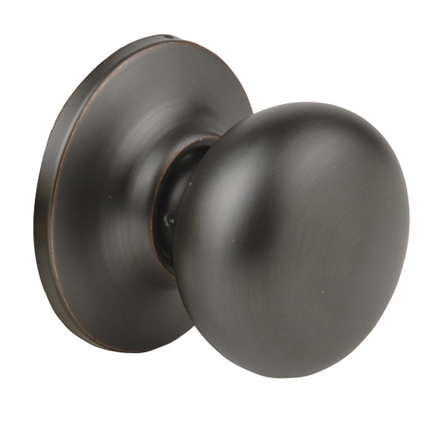 oiled rubbed bronze door knobs photo - 10