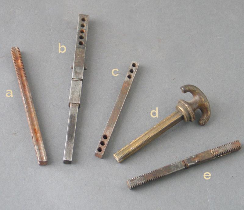 old door knob parts photo - 1