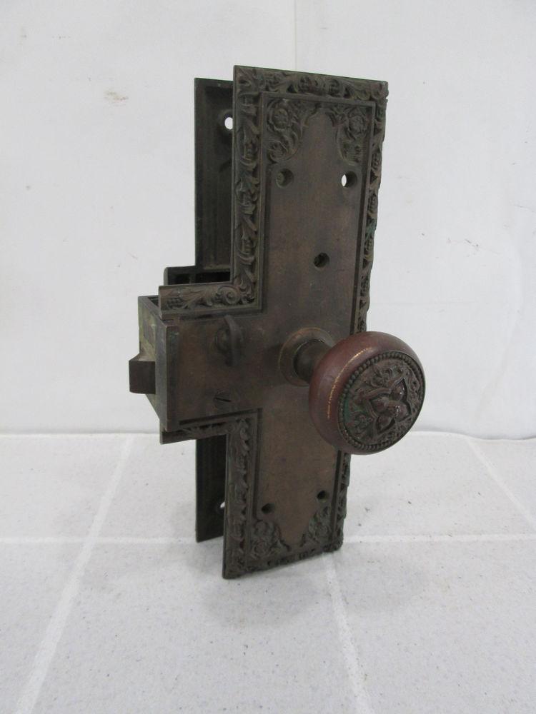 old door knob parts photo - 3