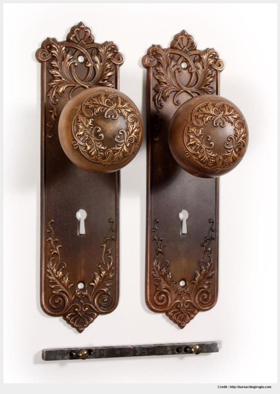 old fashioned door knob photo - 10