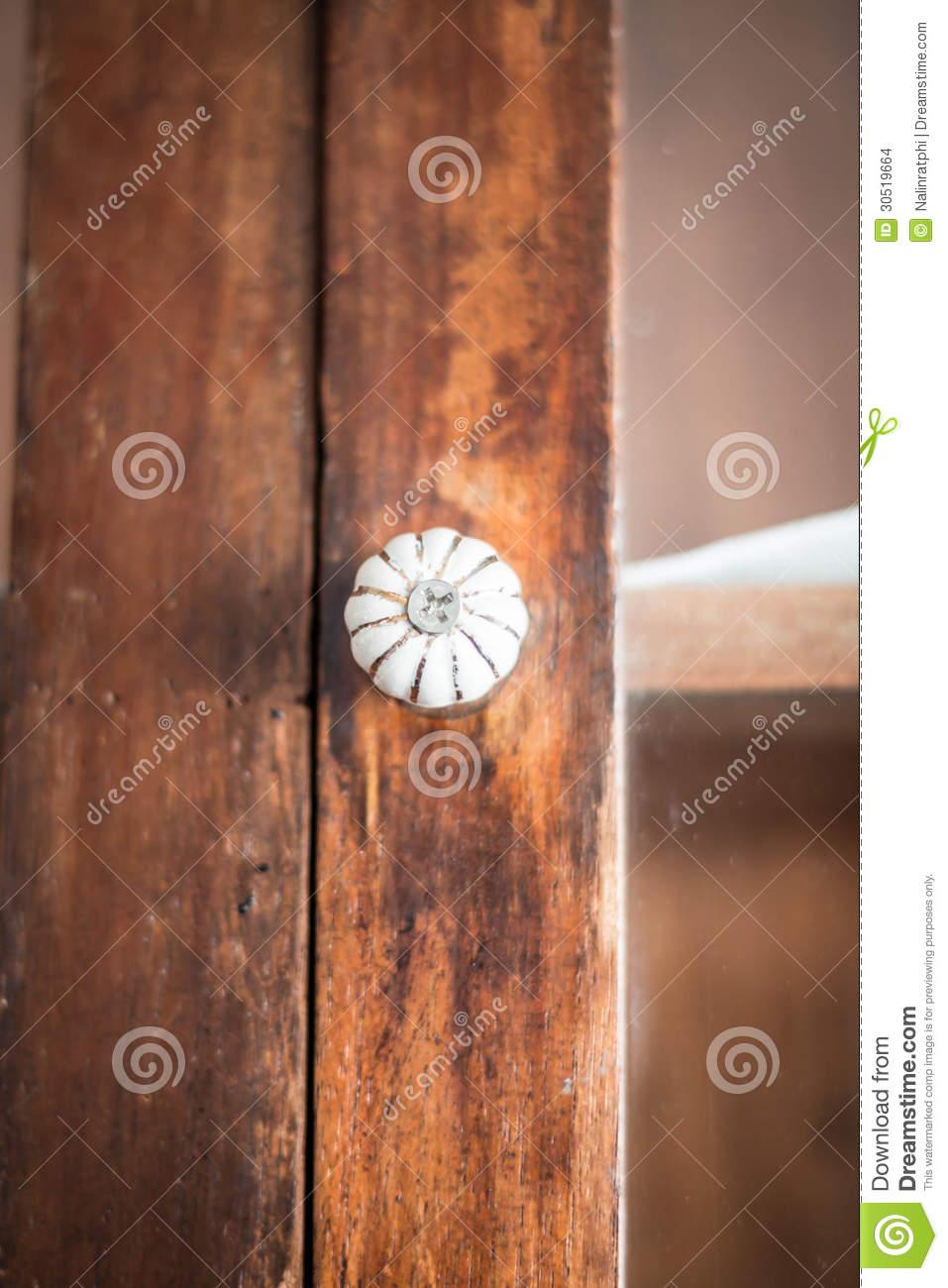 old fashioned door knob photo - 9