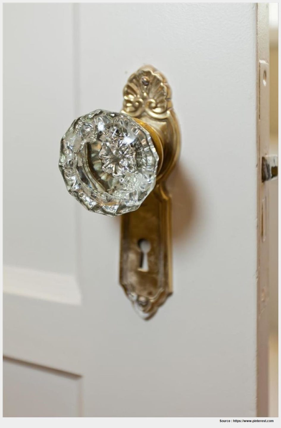 old fashioned glass door knobs photo - 4