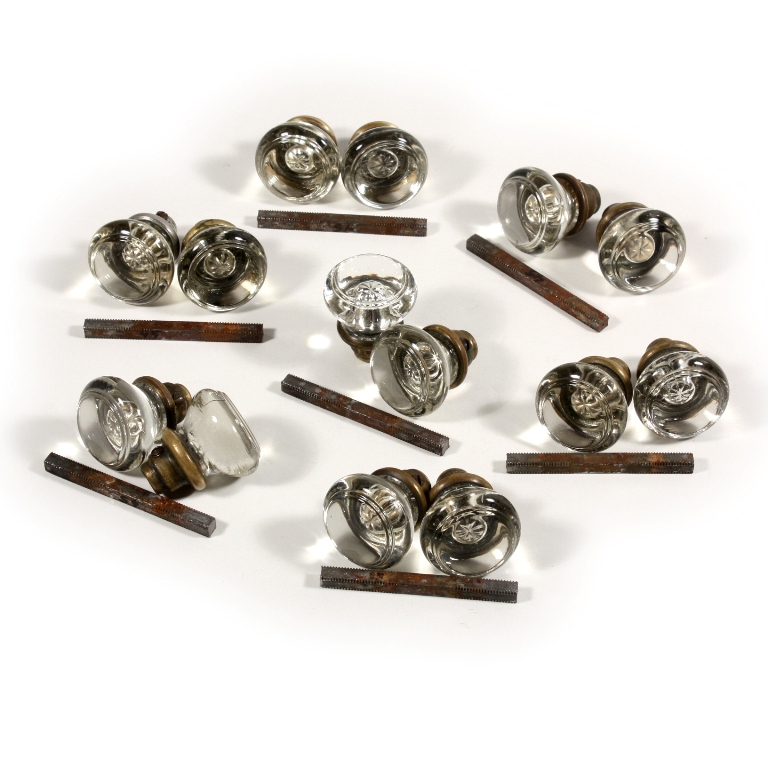 old glass door knobs for sale photo - 10