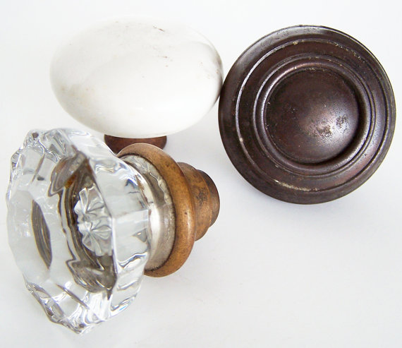 old glass door knobs for sale photo - 19