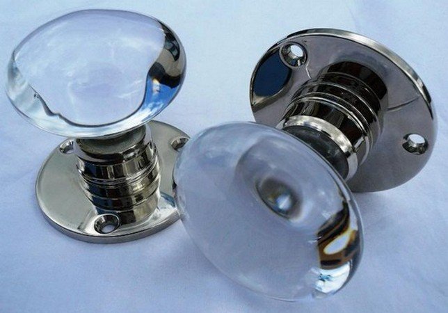 old glass door knobs for sale photo - 3