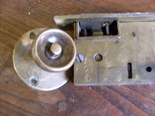 one sided door knob photo - 13