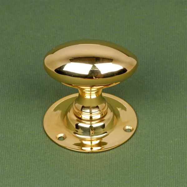 oval brass door knobs photo - 19