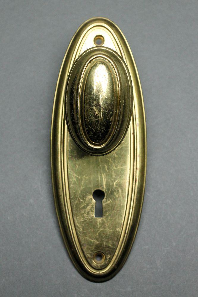 oval door knob photo - 18