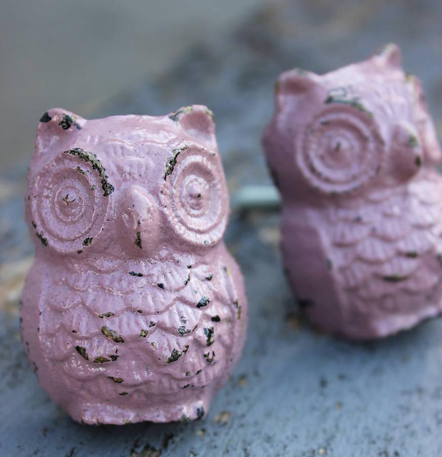 owl door knobs photo - 2