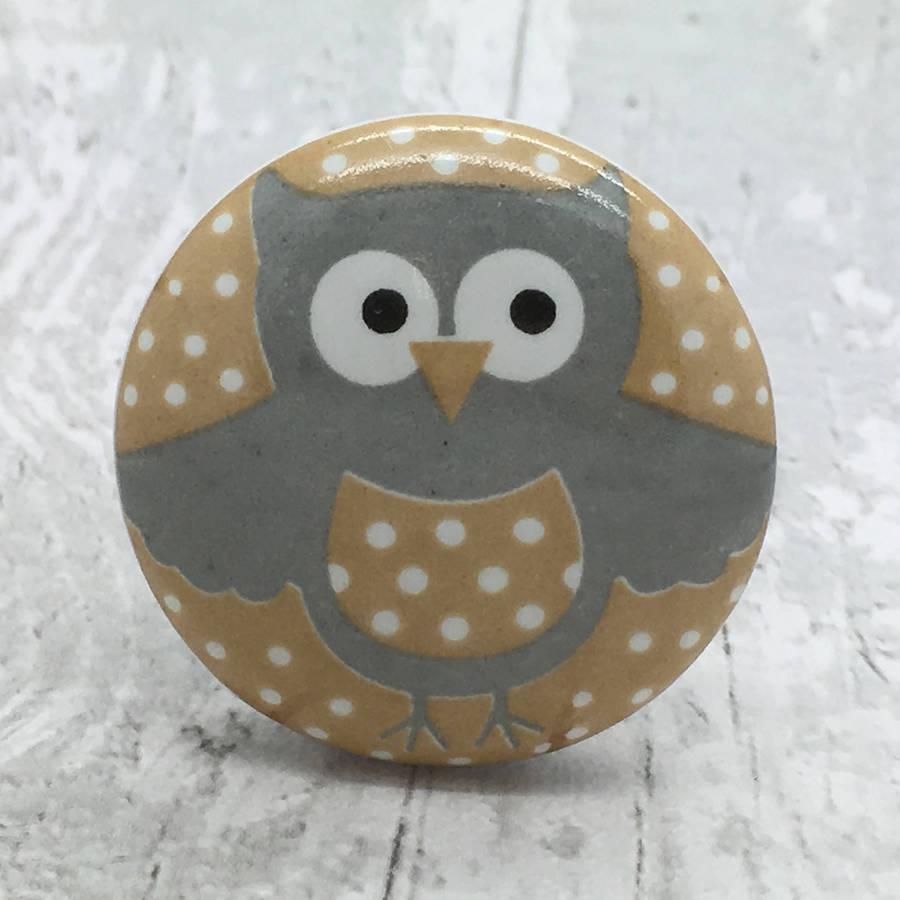 owl door knobs photo - 3