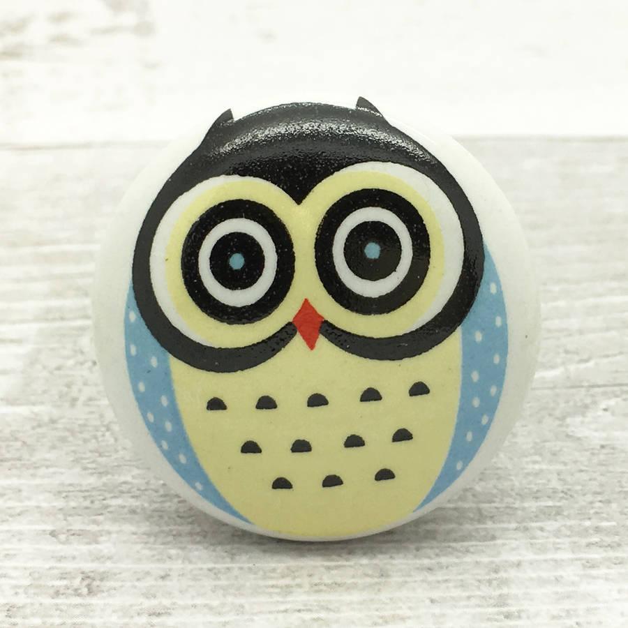 owl door knobs photo - 4