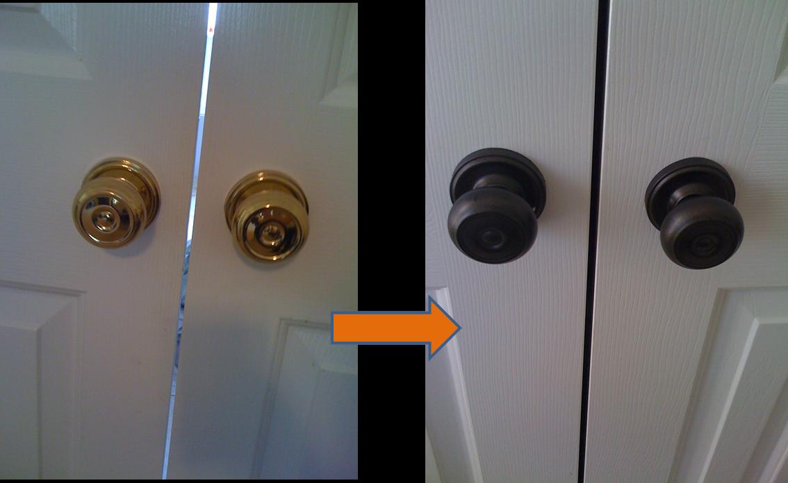paint door knobs photo - 18