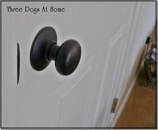 painting door knobs photo - 20